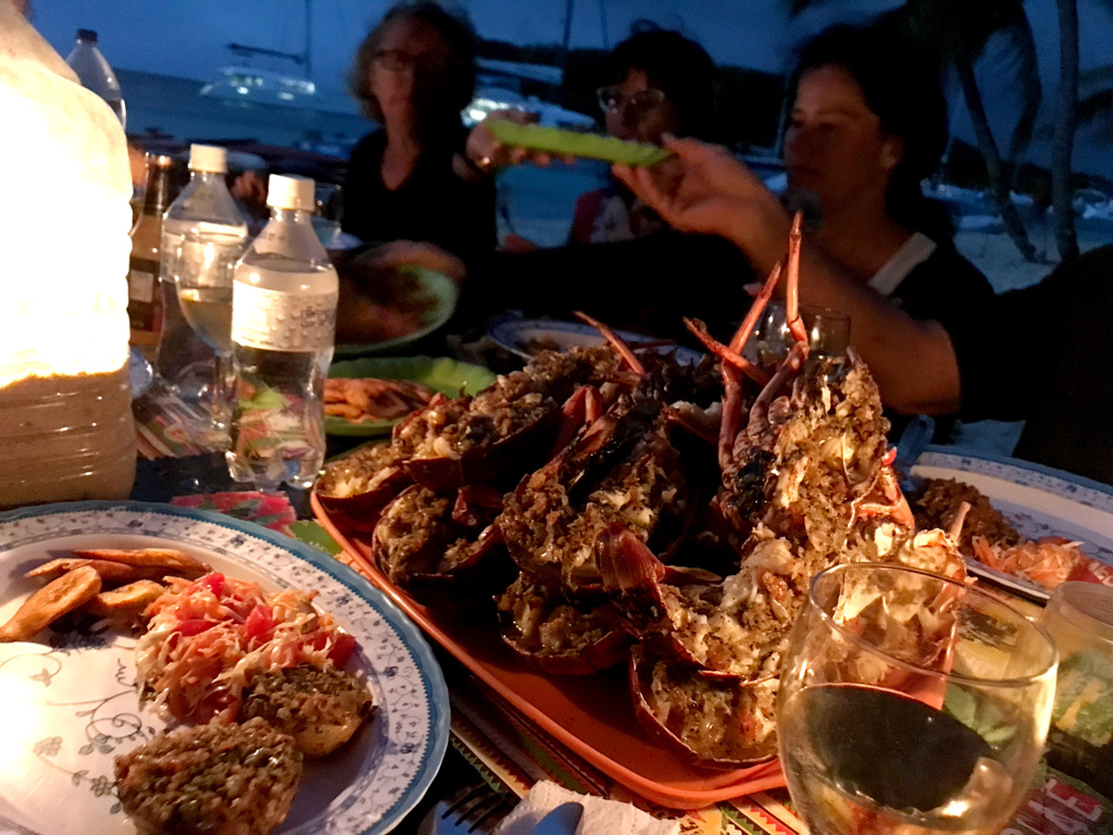 Tobago Cays – Lobster Barbeque